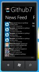 Homepage - newsfeed